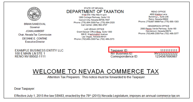 Tax Identification Number Example Pictures To Pin On