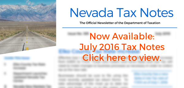 Tax Notes: July 2016