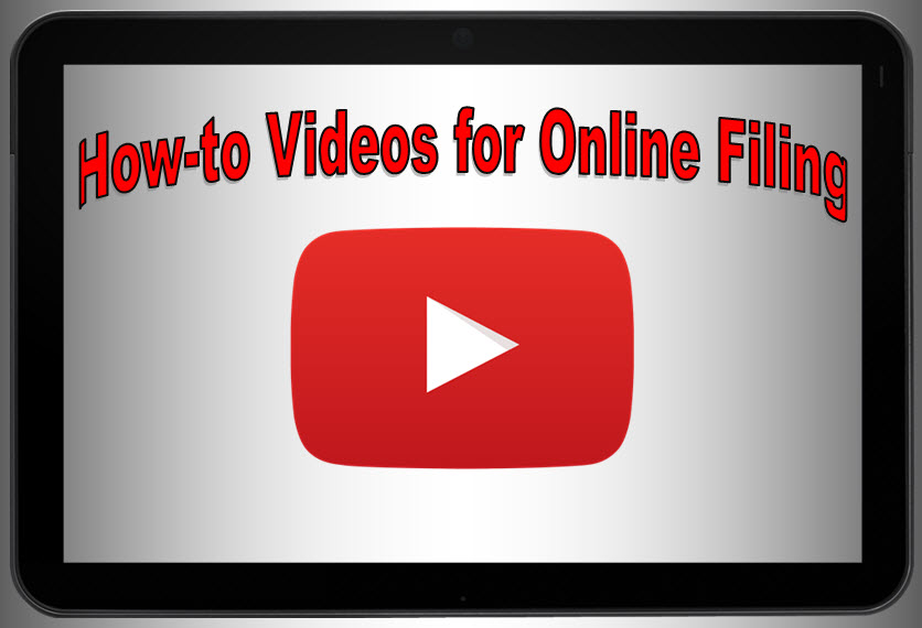 How-to Videos for Online Filing